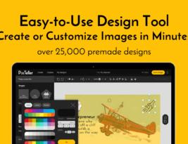 PIXTELLER: Le nouvel outil de Design Graphique en ligne